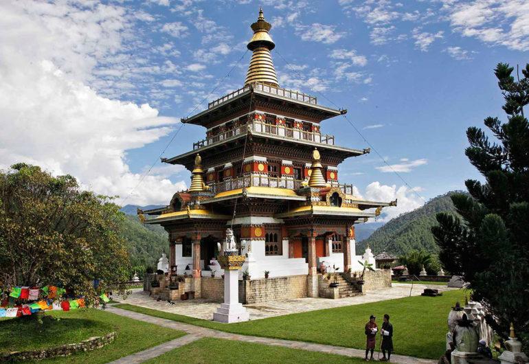 Khamsum Yulley Namgyel Chorten, punakha, bhutan