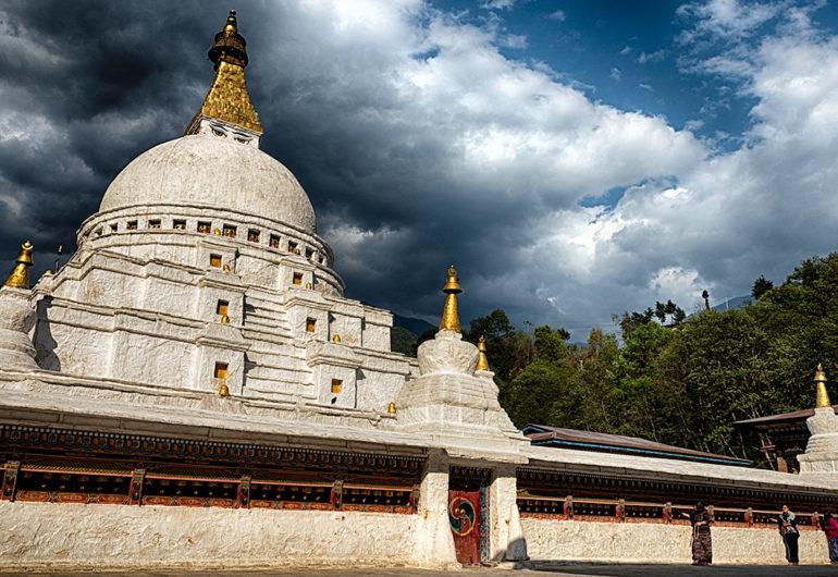 Chorten kora, tashiyangtse, bhutan